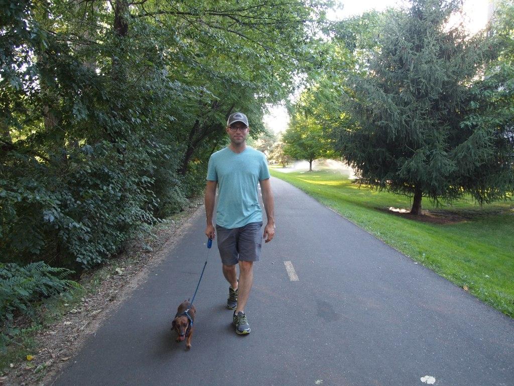 On a nice stroll