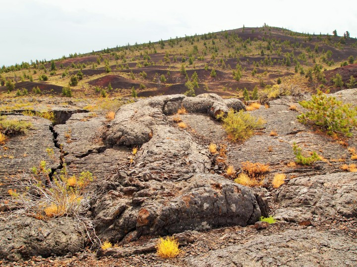 Cool lava blob