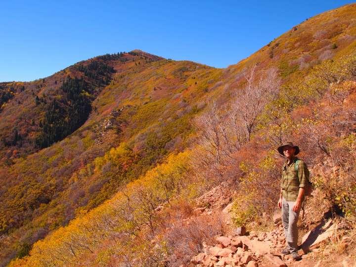 Grandeur Peak seems so much closer than it is