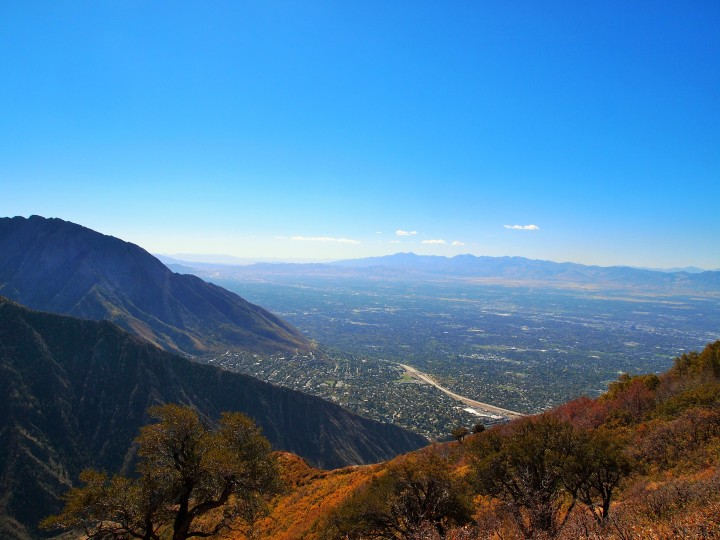 Part of the Salt Lake Valley