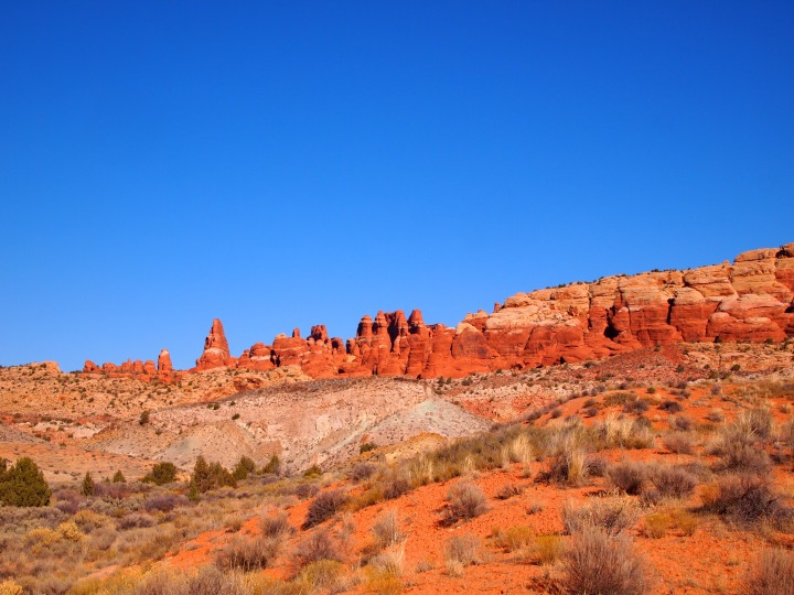 Fiery Furnace from a distance