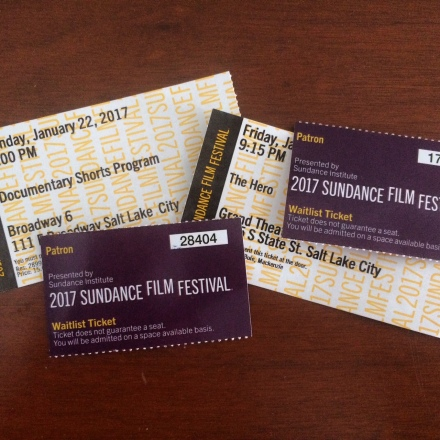 A successful first Sundance!